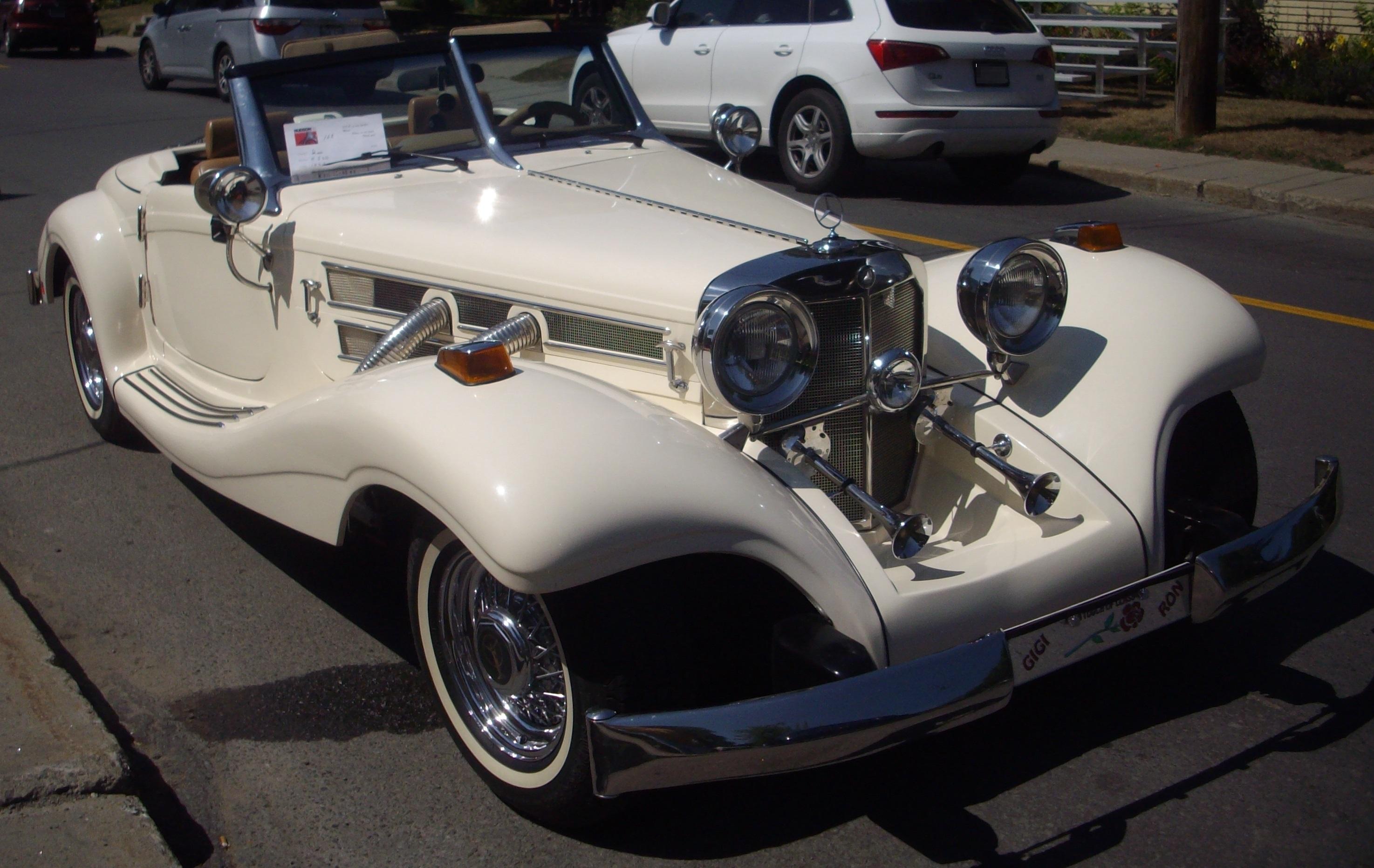 file heritage replica benz 500k kit car auto classique