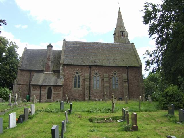 Holy Trinity Church Yockleton. Attribution: John M / Holy Trinity Church / CC BY-SA 2.0