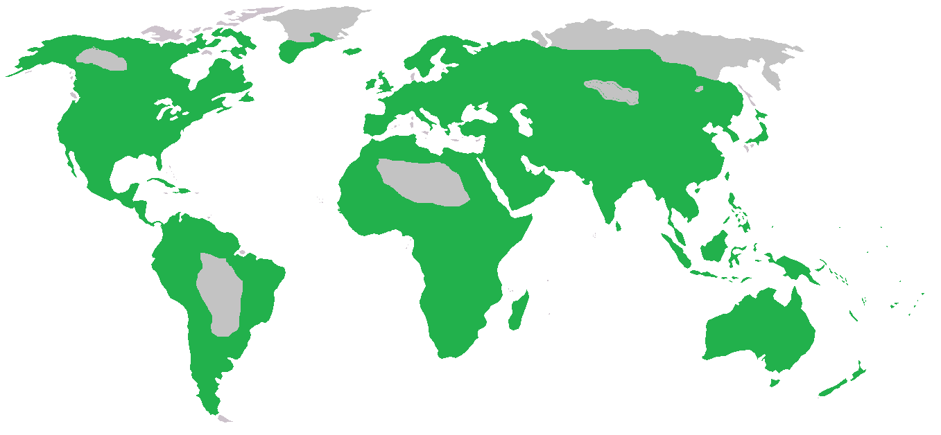 Map of humans