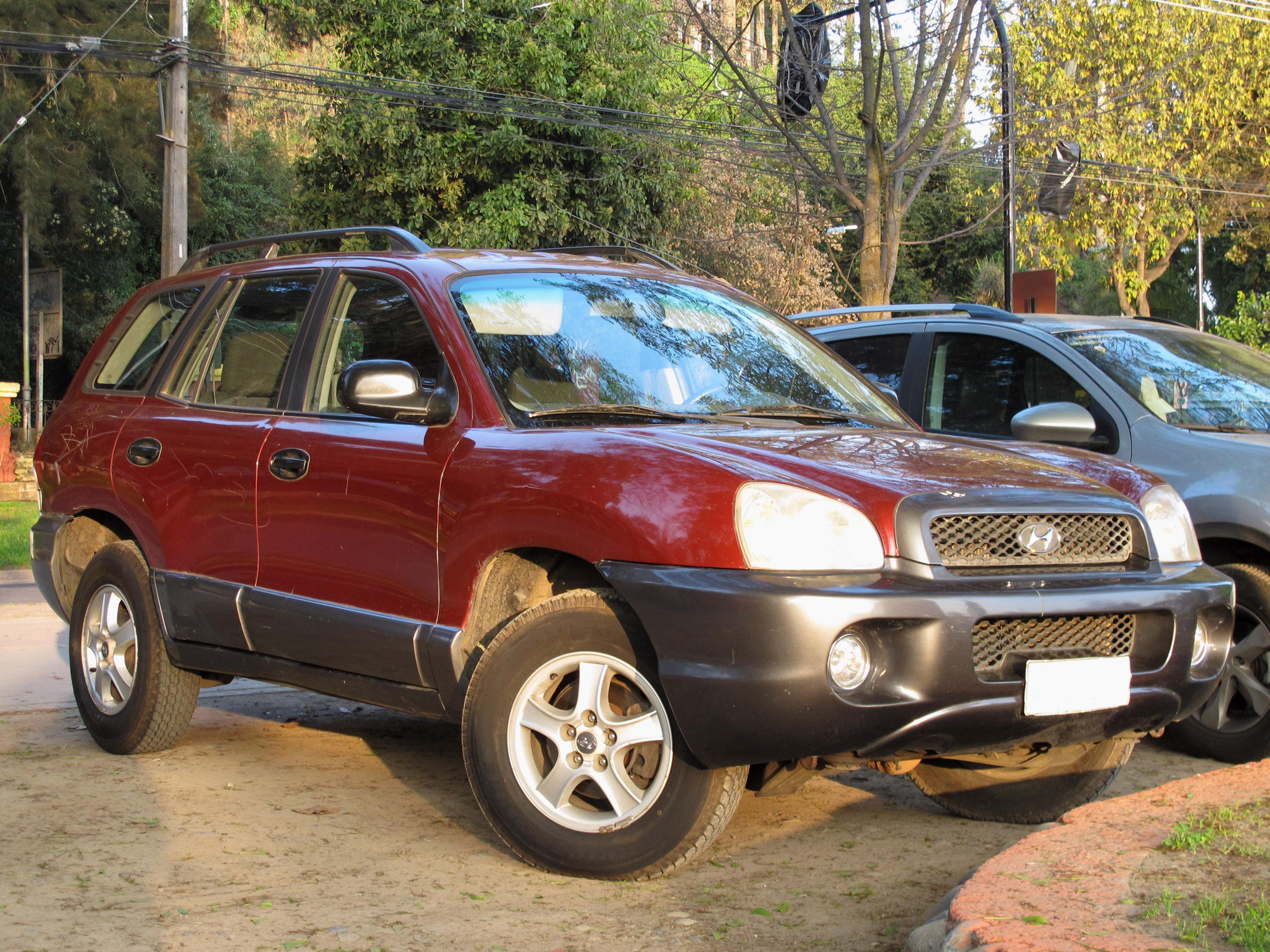 File:Hyundai Santa Fe GL 2.4 4WD 2002 (14807962288)