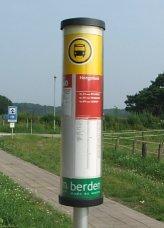 Haltepalen (iBUS) van Veolia Limburg