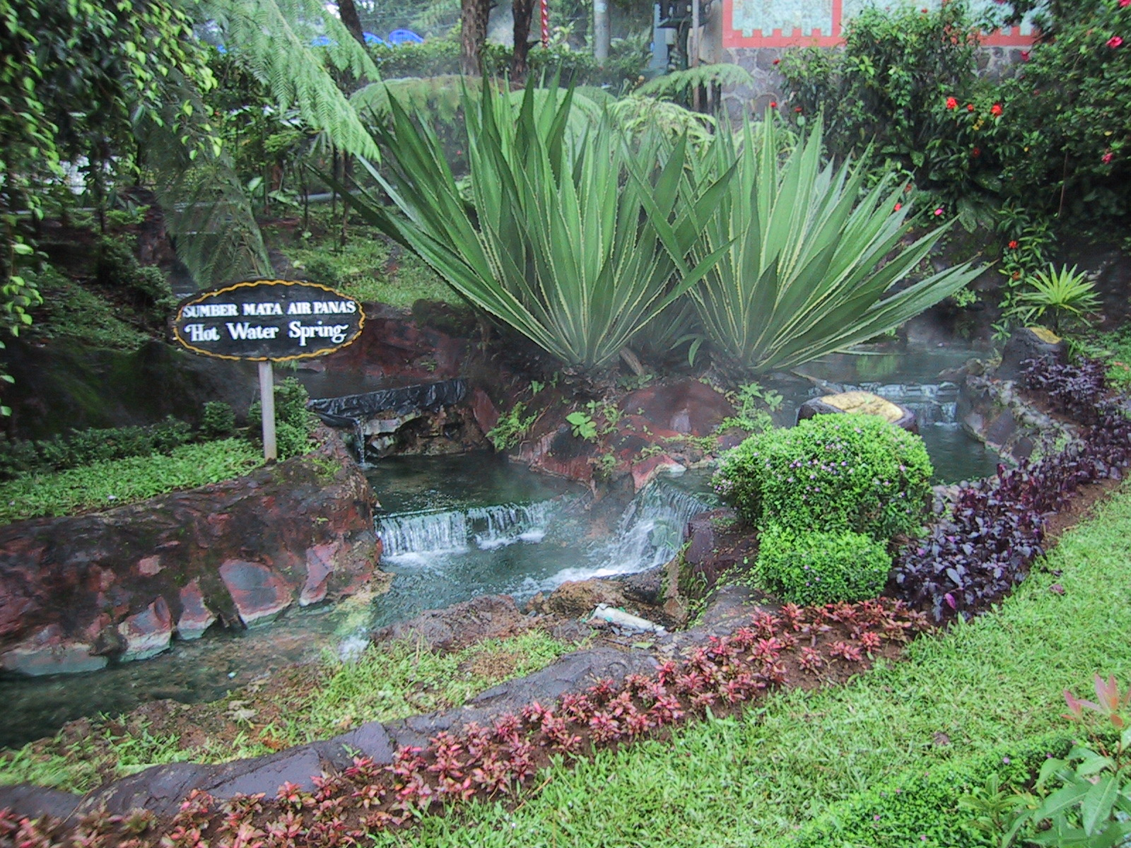 Sari Ater Hot Springs