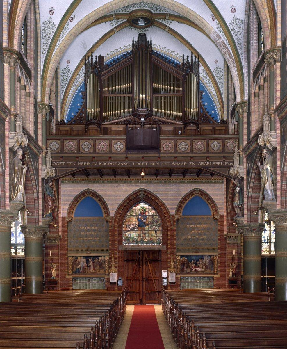 File interieur aanzicht orgel orgelnummer 1204 for Afbeeldingen interieur