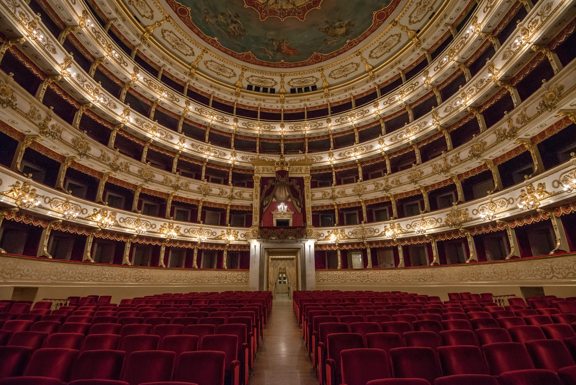 Interno del Teatro Regio