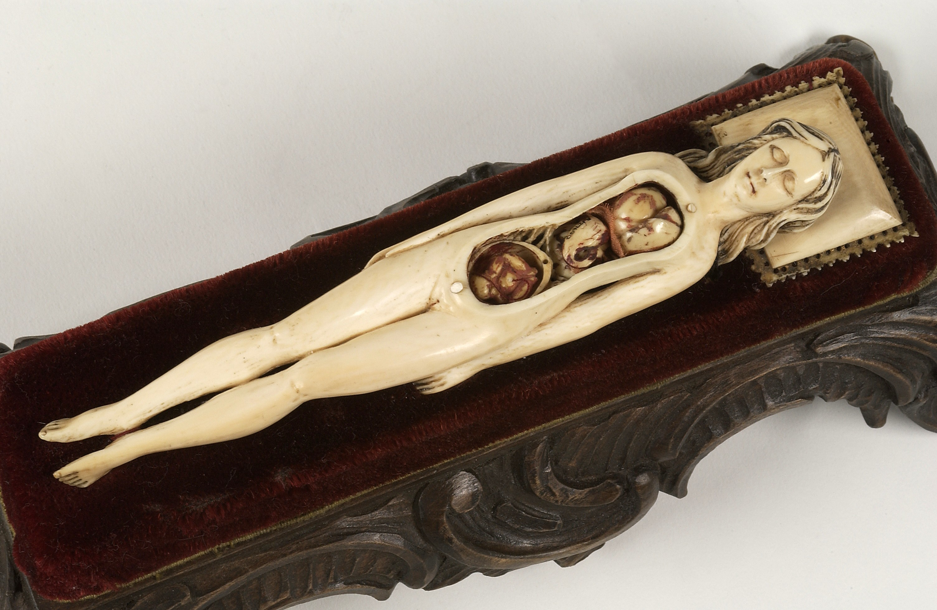File:Ivory anatomical figure of a pregnant woman Wellcome L0037289 ...