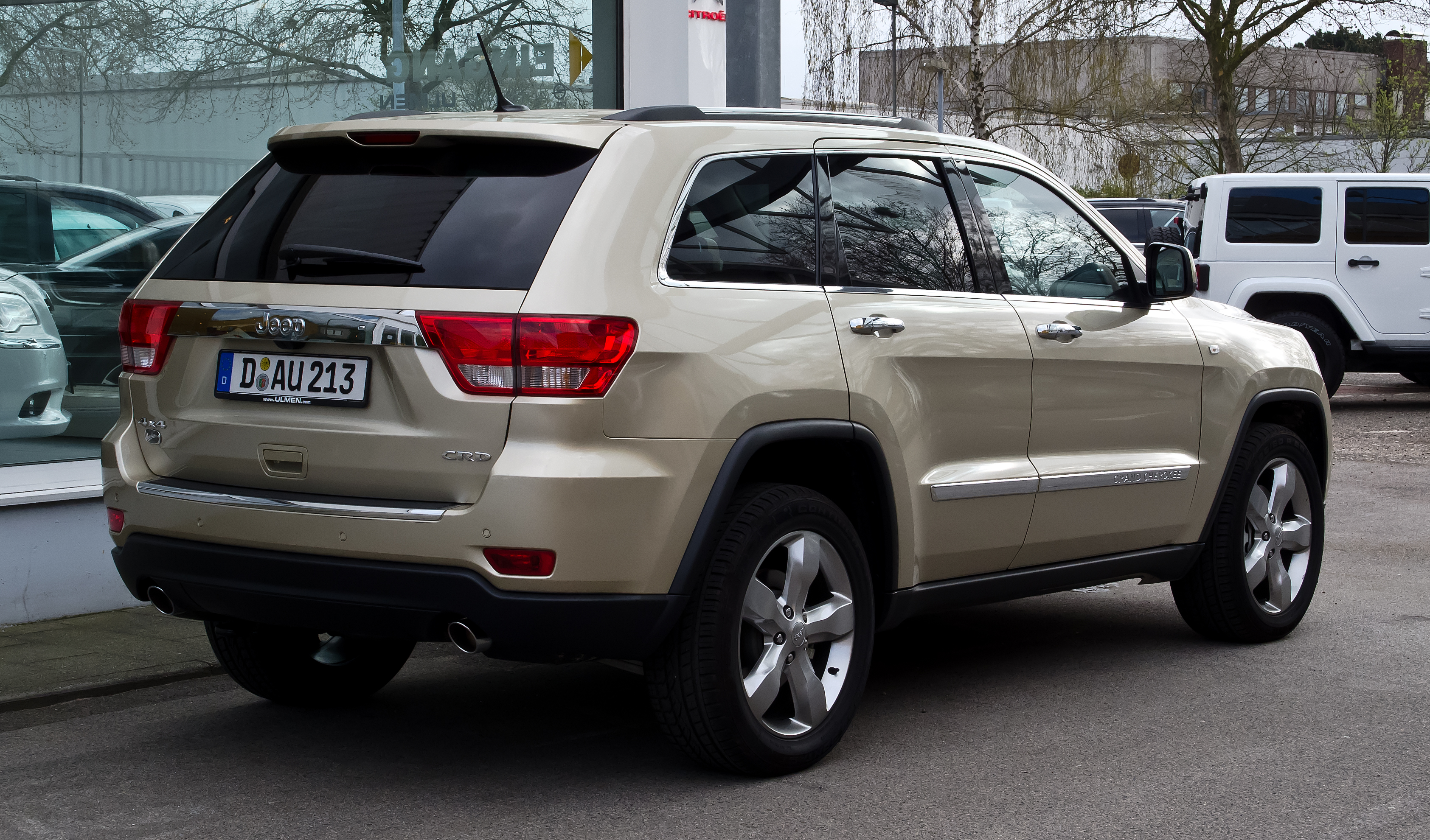 description jeep grand cherokee 3 0 crd overland wk heckansicht. Cars Review. Best American Auto & Cars Review