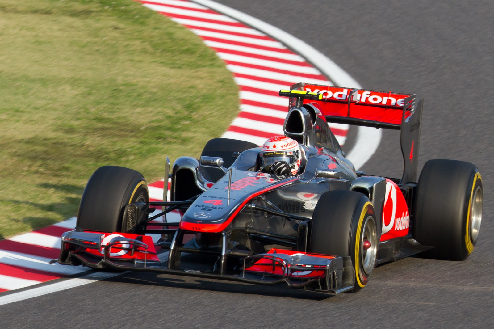 Jenson Button in 2011
