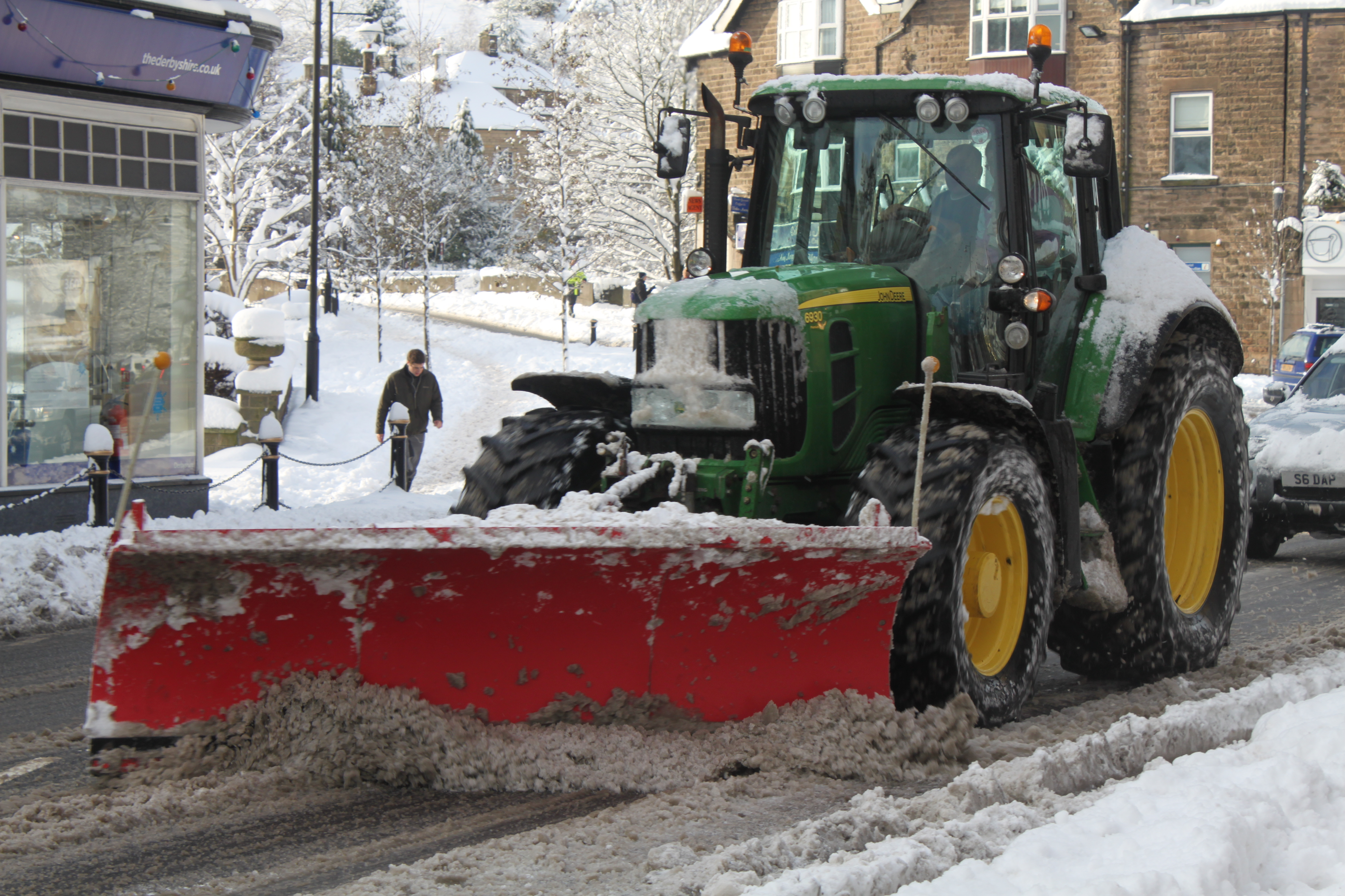 John Deere 116 Snow Plow : File john deere snow plough matlock g