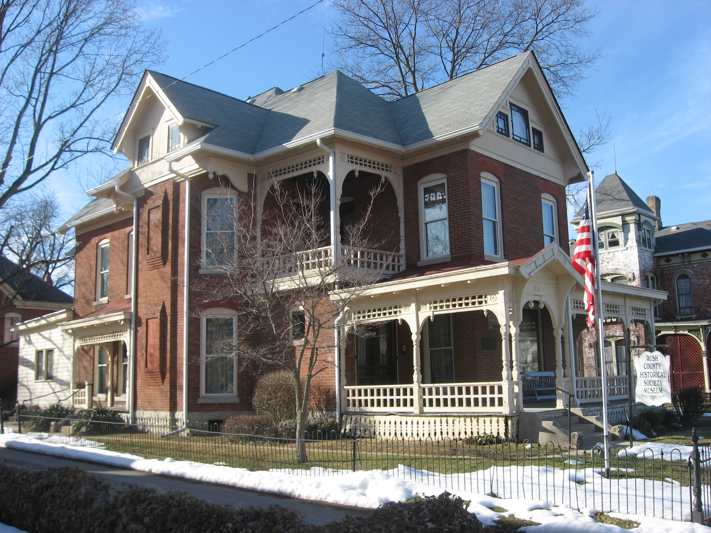 Indiana rush county - The John K Gowdy House In Rushville