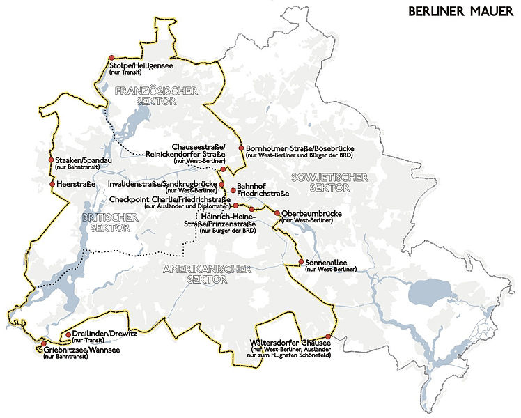 Berlinmuren Wikipedia