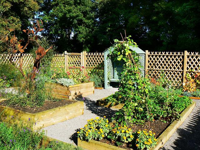 Kitchen Garden, Ranger Centre, Stanton Park, Swindon (2) - geograph.org.uk - 1526320