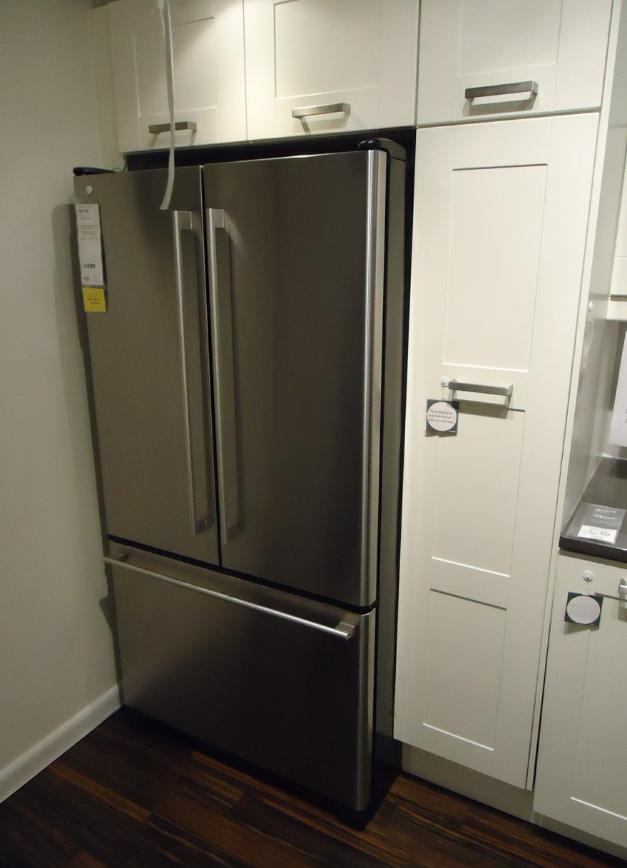 File:Kitchen design at a store in NJ refrigerator and ...