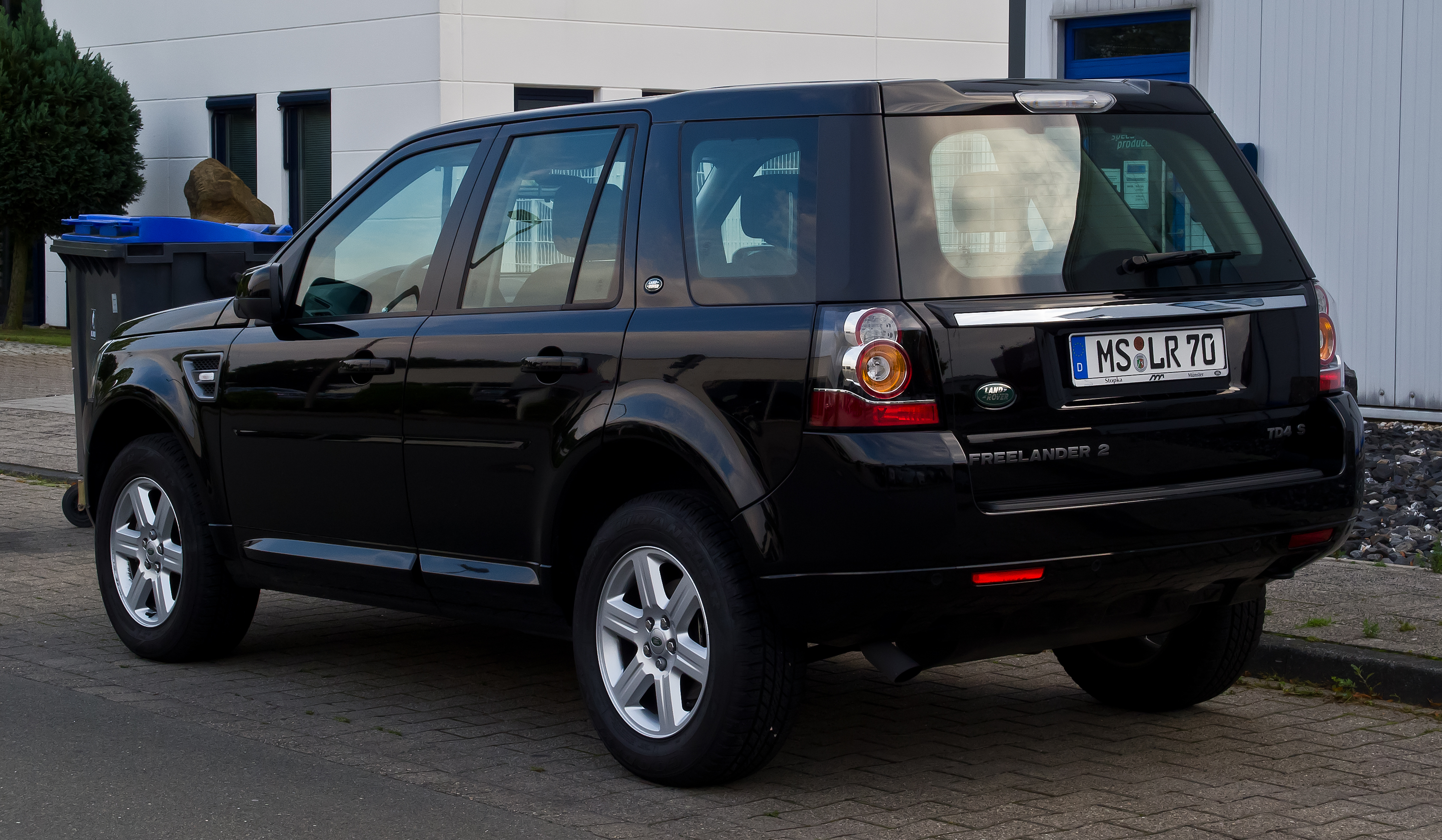 file land rover freelander td4 s ii 2 facelift heckansicht 21 august 2013 m. Black Bedroom Furniture Sets. Home Design Ideas