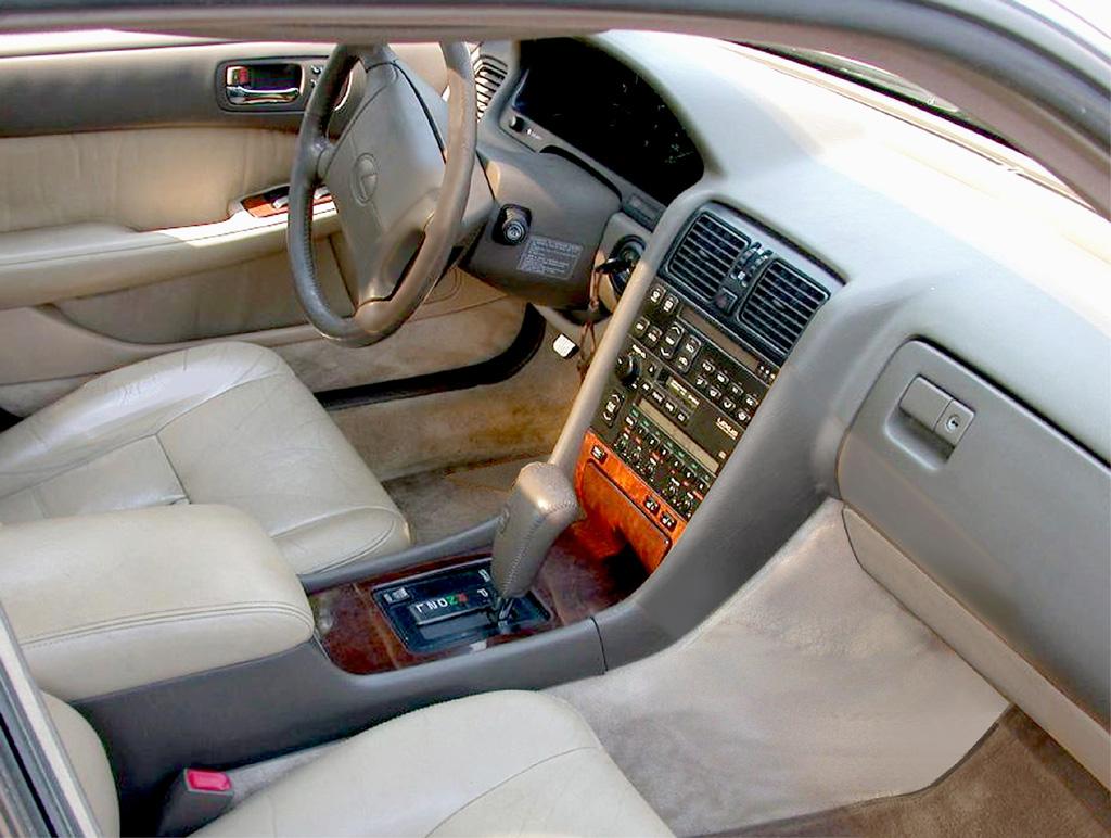 Lexus Ls Interior Front