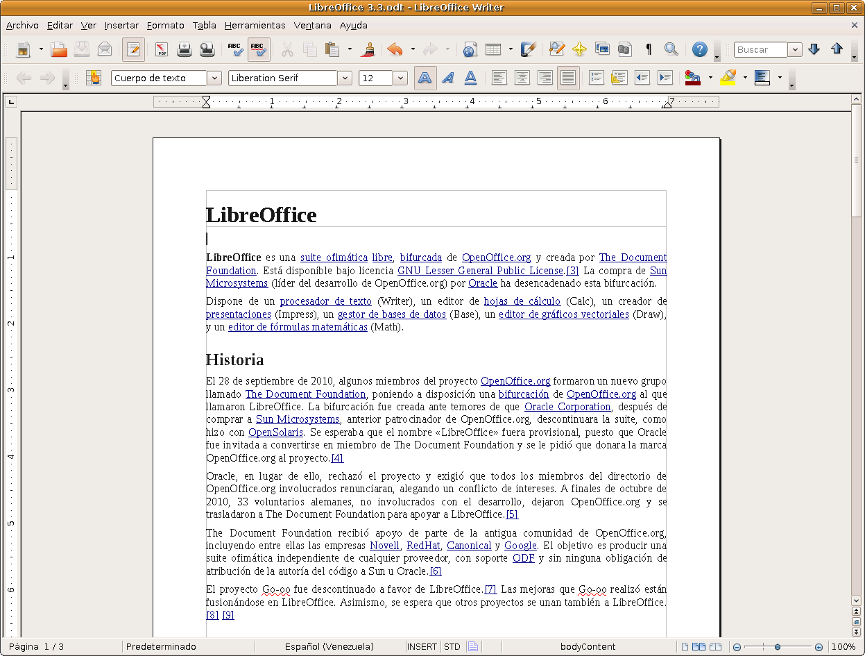 File:LibreOffice Writer 3.3.png - Wikimedia Commons