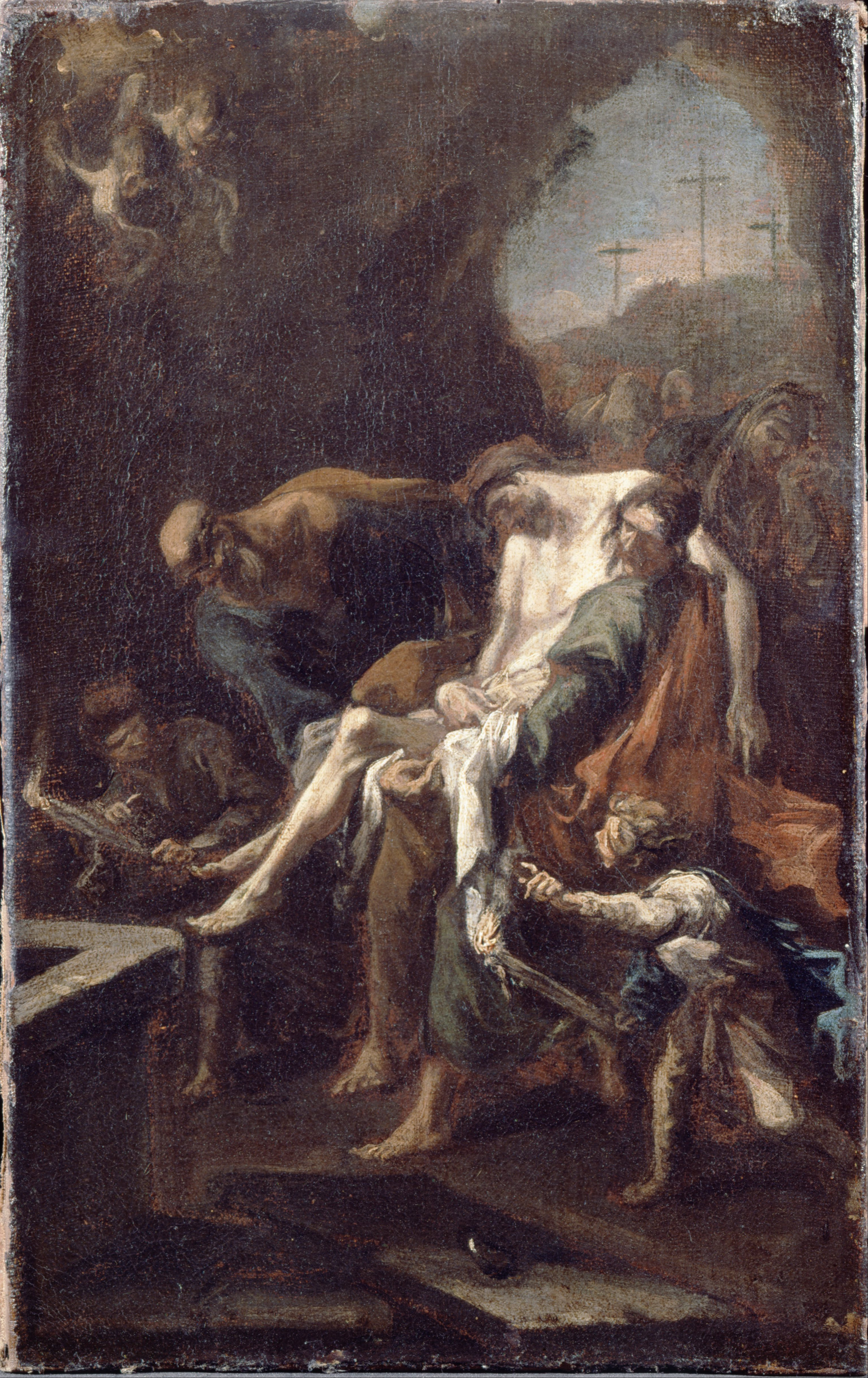 a history of the entombment of christ Domenikos theotokopoulos, called el greco candia (herakleion), crete circa 1541 - 1614 toledo the entombment of christ estimate: 1,000,000 - 1,500,000 usd.