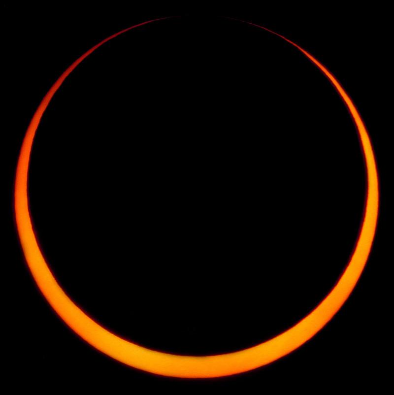 Canon Solar Eclipse Paper Craft