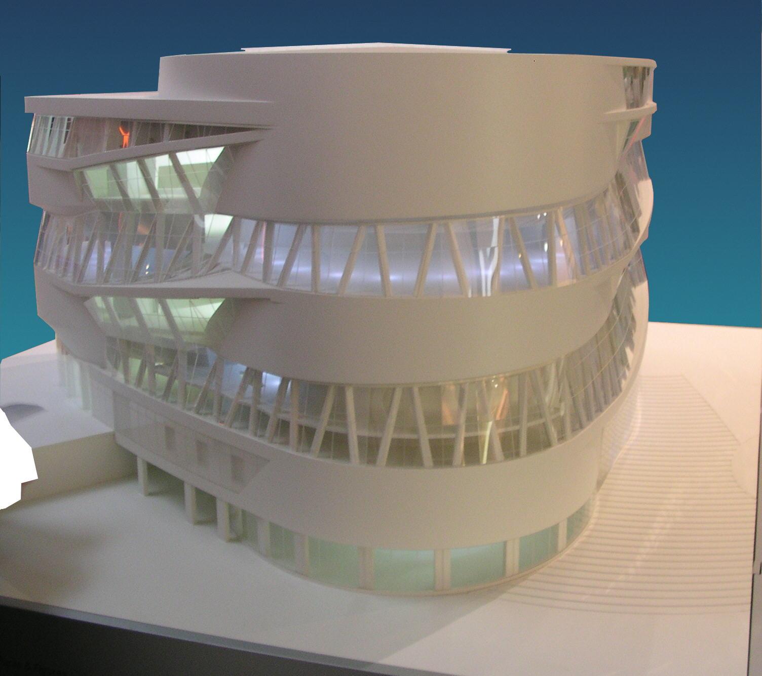 Modell Architektur | Datei Mercedes Museum Modell 3 Jpg Wikipedia