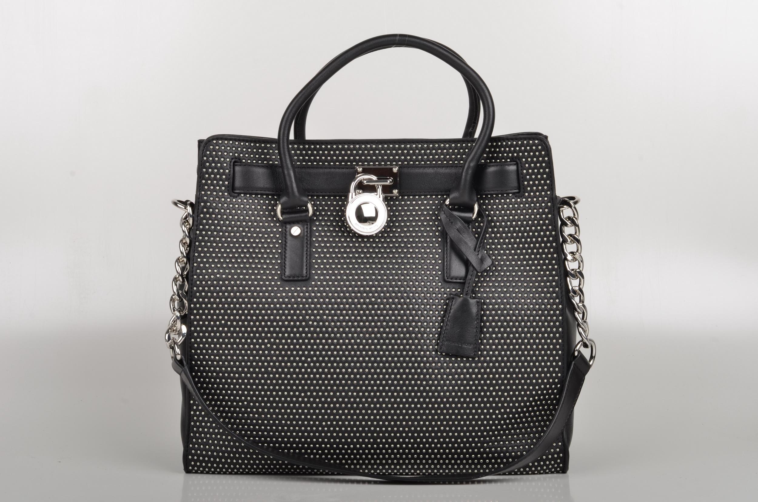 michael kors hamilton microstud handbag handbags 2018. Black Bedroom Furniture Sets. Home Design Ideas