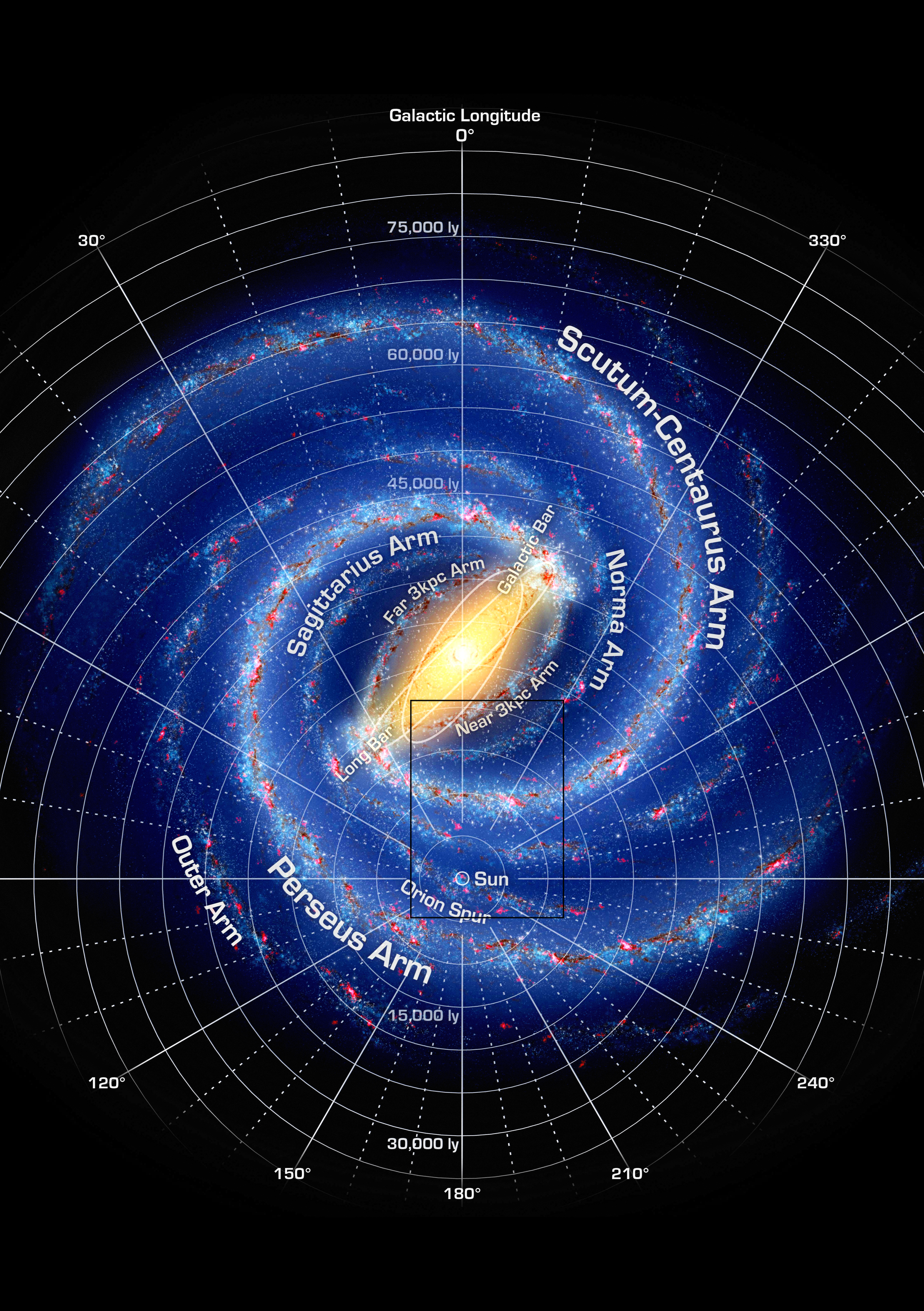Map Of Milky Way File:Milky Way Map A5 zoominfo 2.png   Wikimedia Commons Map Of Milky Way