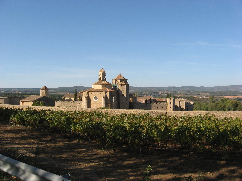 Depiction of Monasterio de Poblet