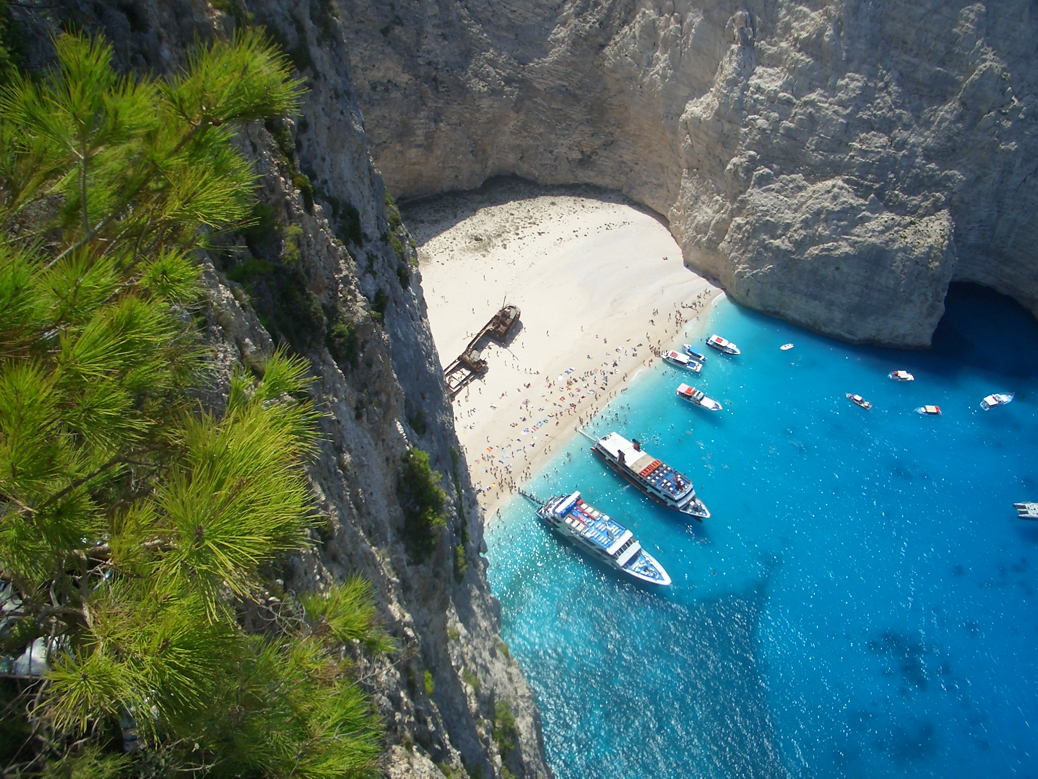 FileNavagio Beach Shipwreck In Zakynthos