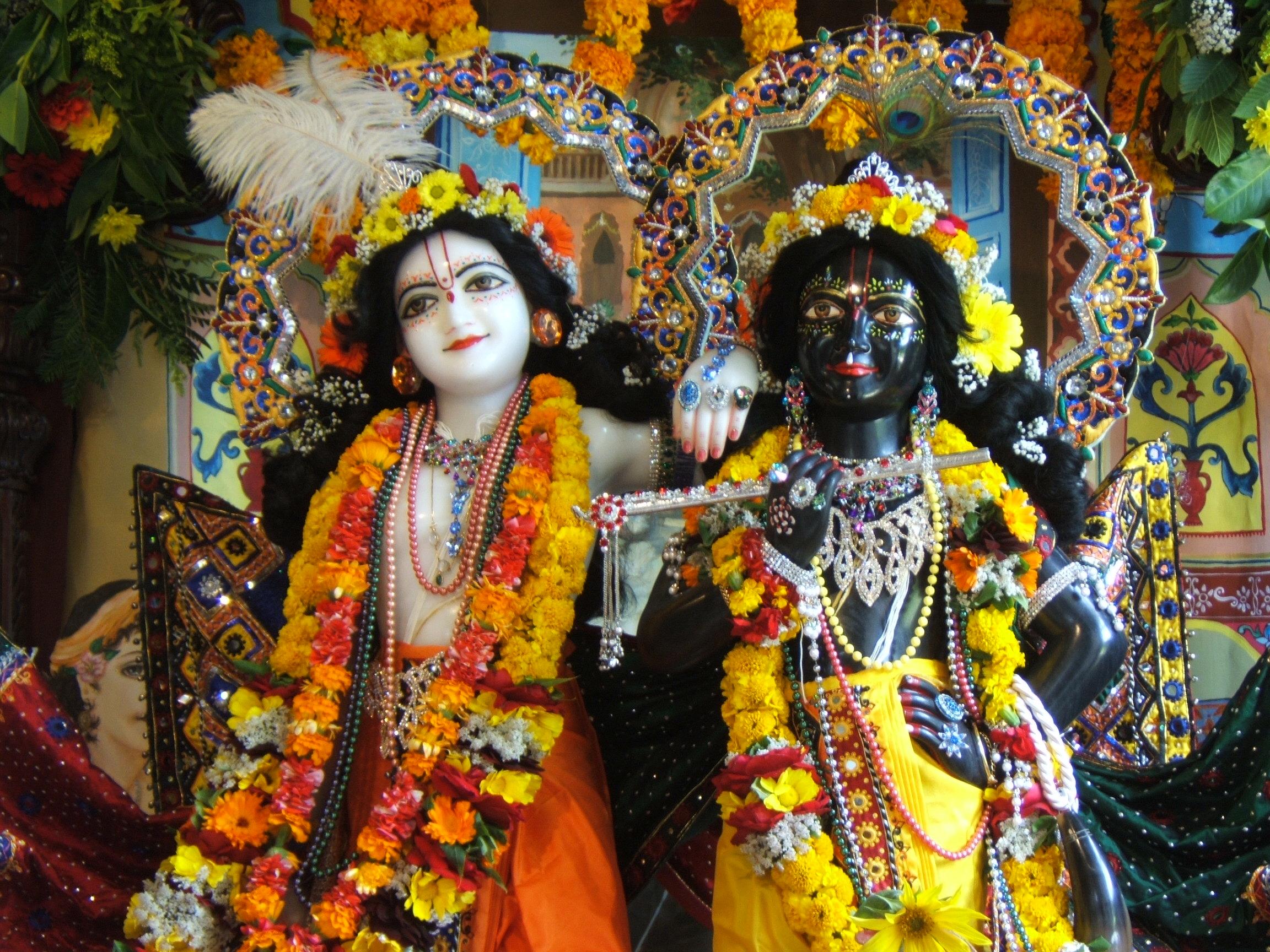 Krishna es azul