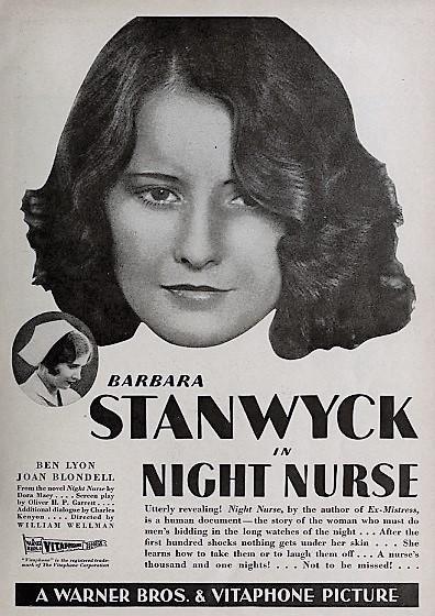 Night Nurse Film Langelo Bianco Wikipedia