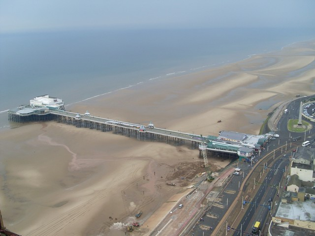 File North Pier From Blackpool Tower Geograph Org Uk