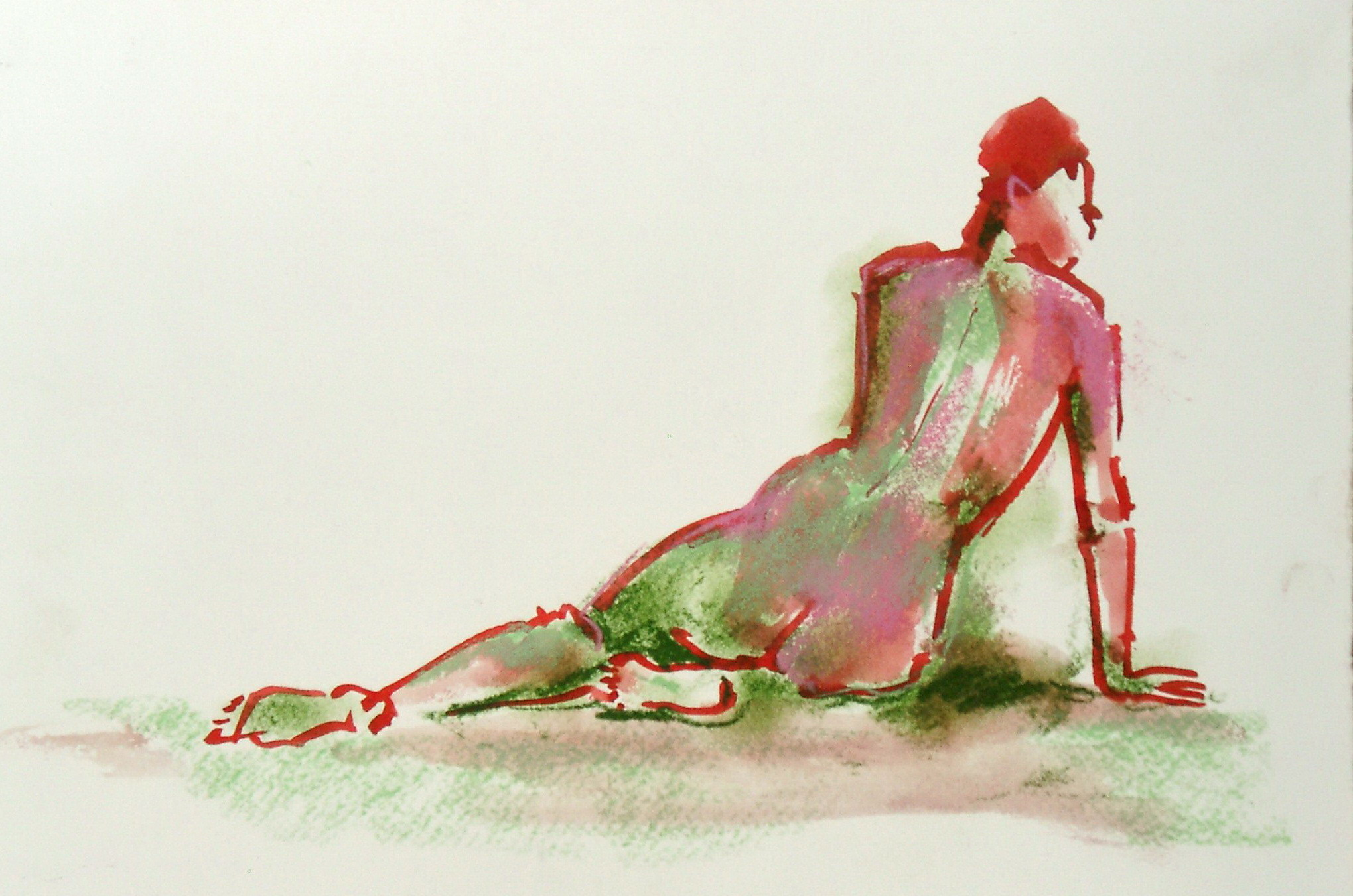 Nude, red and green.JPG