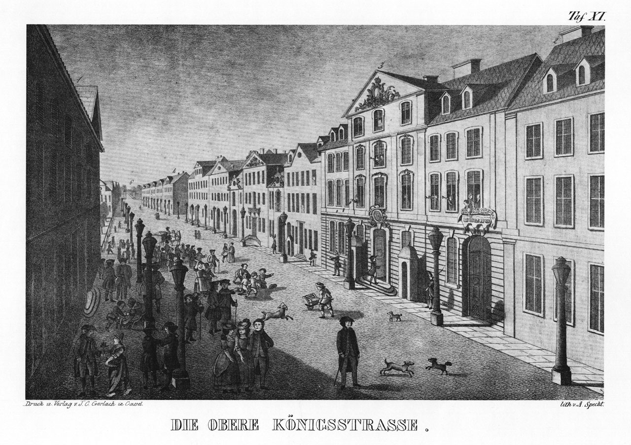 File:Obere Koenigstrasse Kassel 1844.jpg