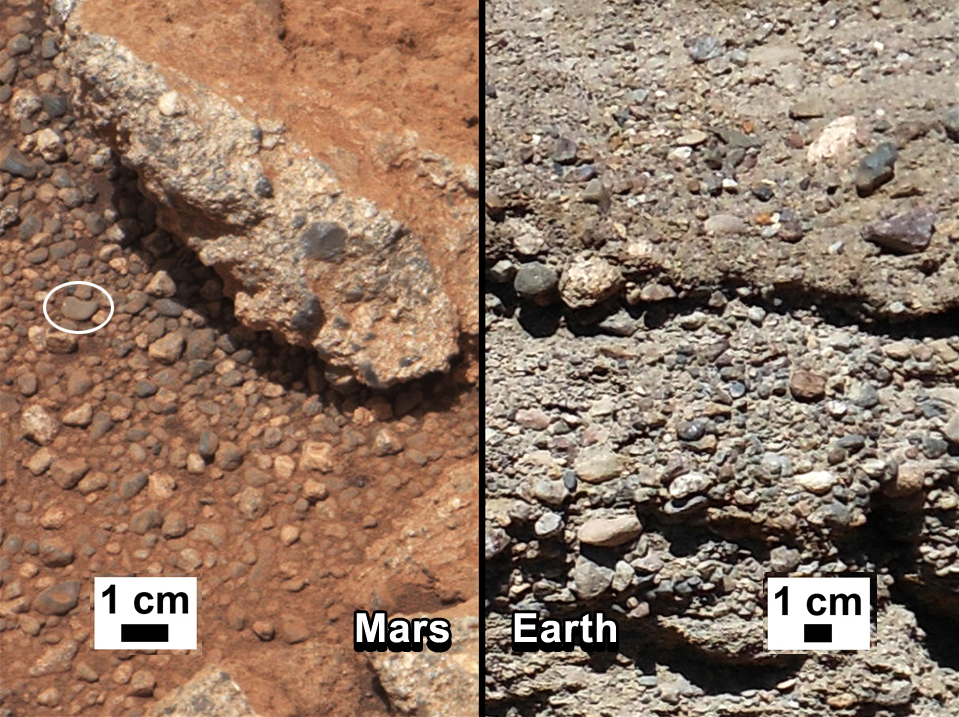 rock on mars by rover - photo #24