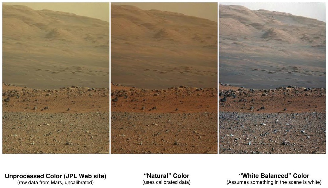 curiosity rover color - photo #12