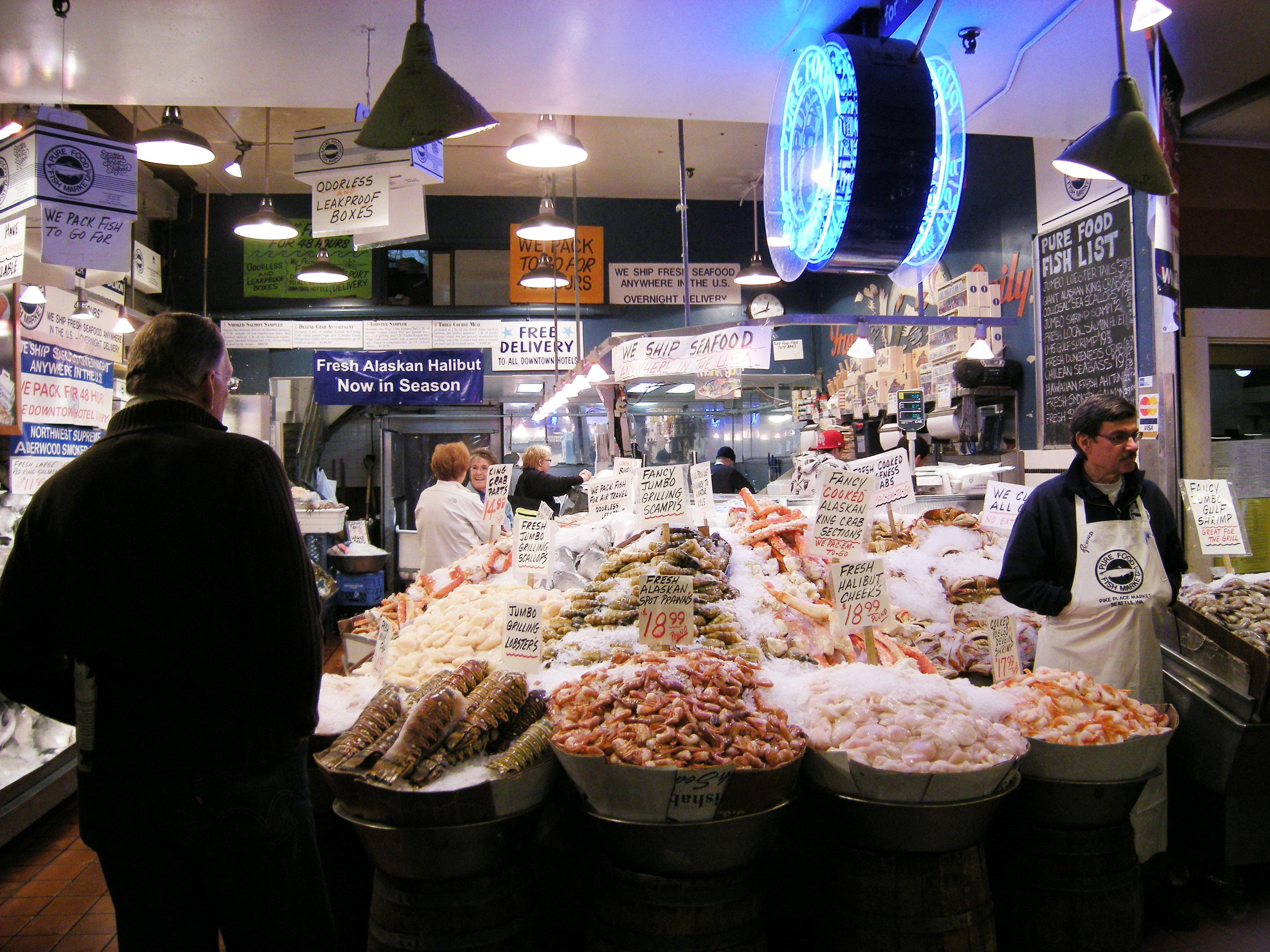 File pike place market pure food fish for Pure food fish market