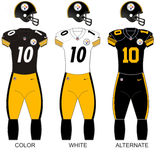 steelers 1960 throwback jersey