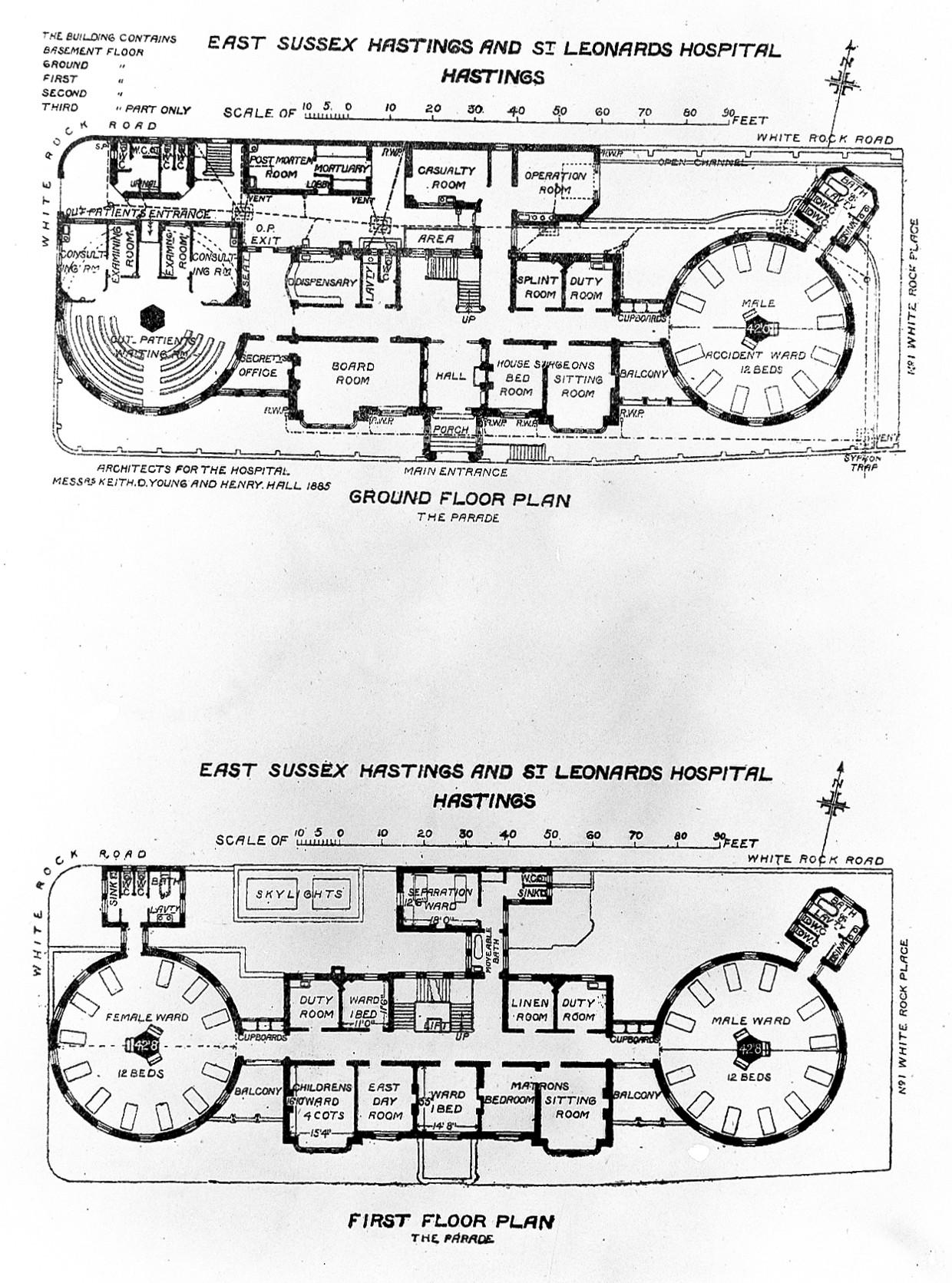 100 Floor Plan Of Hospital Paranjape Azure A C D E  : PlansofESussex2CHastingsandStLeonard27shospitalsWellcomeL0011765 from jojogor.com size 1240 x 1671 jpeg 567kB