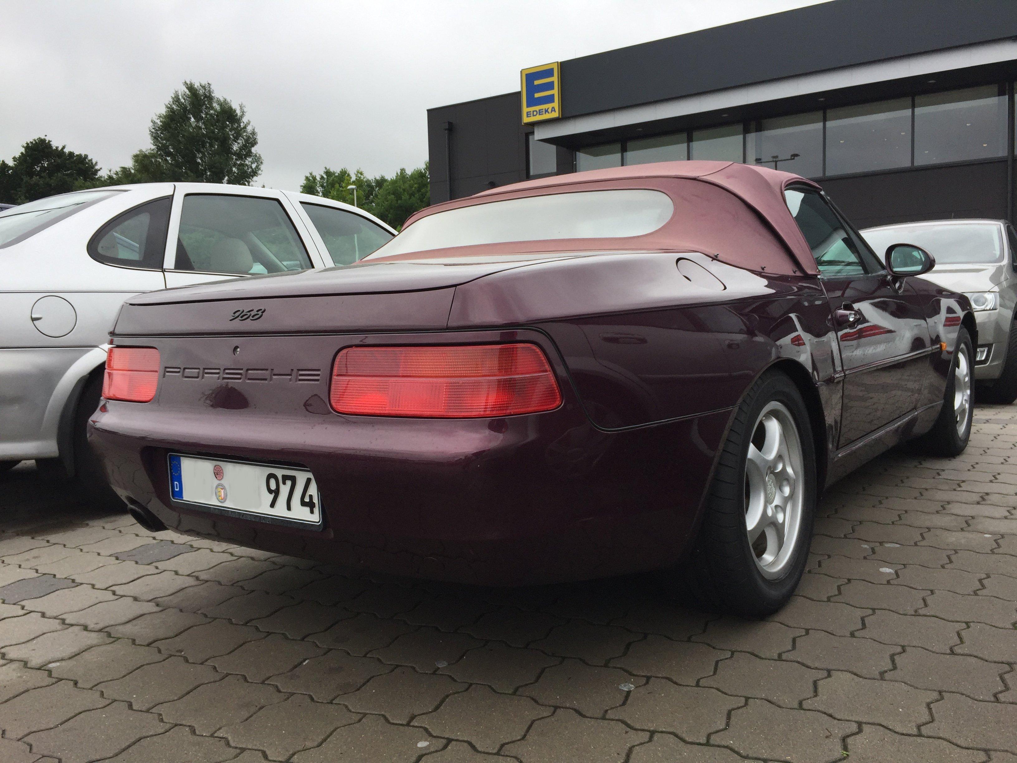 File:Porsche 968 Cabrio Heck.JPG