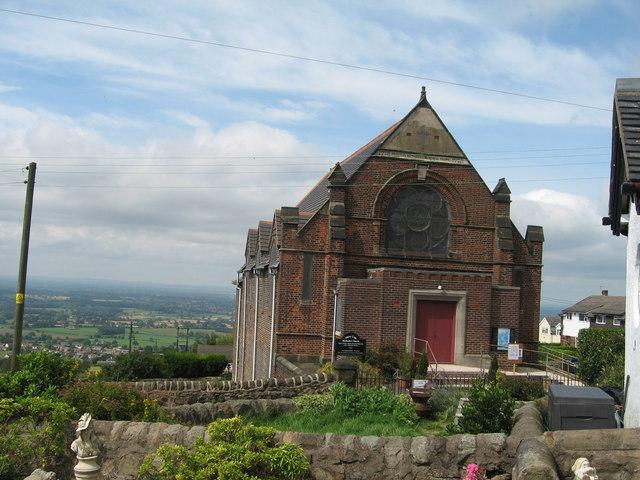Primitive Methodist Memorial Church, Mow Cop - geograph.org.uk - 1016521