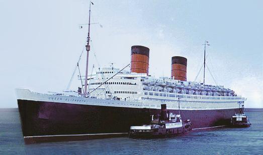 RMS Queen Mary Monedas Medalla Hecho de Hélice Coleccionable