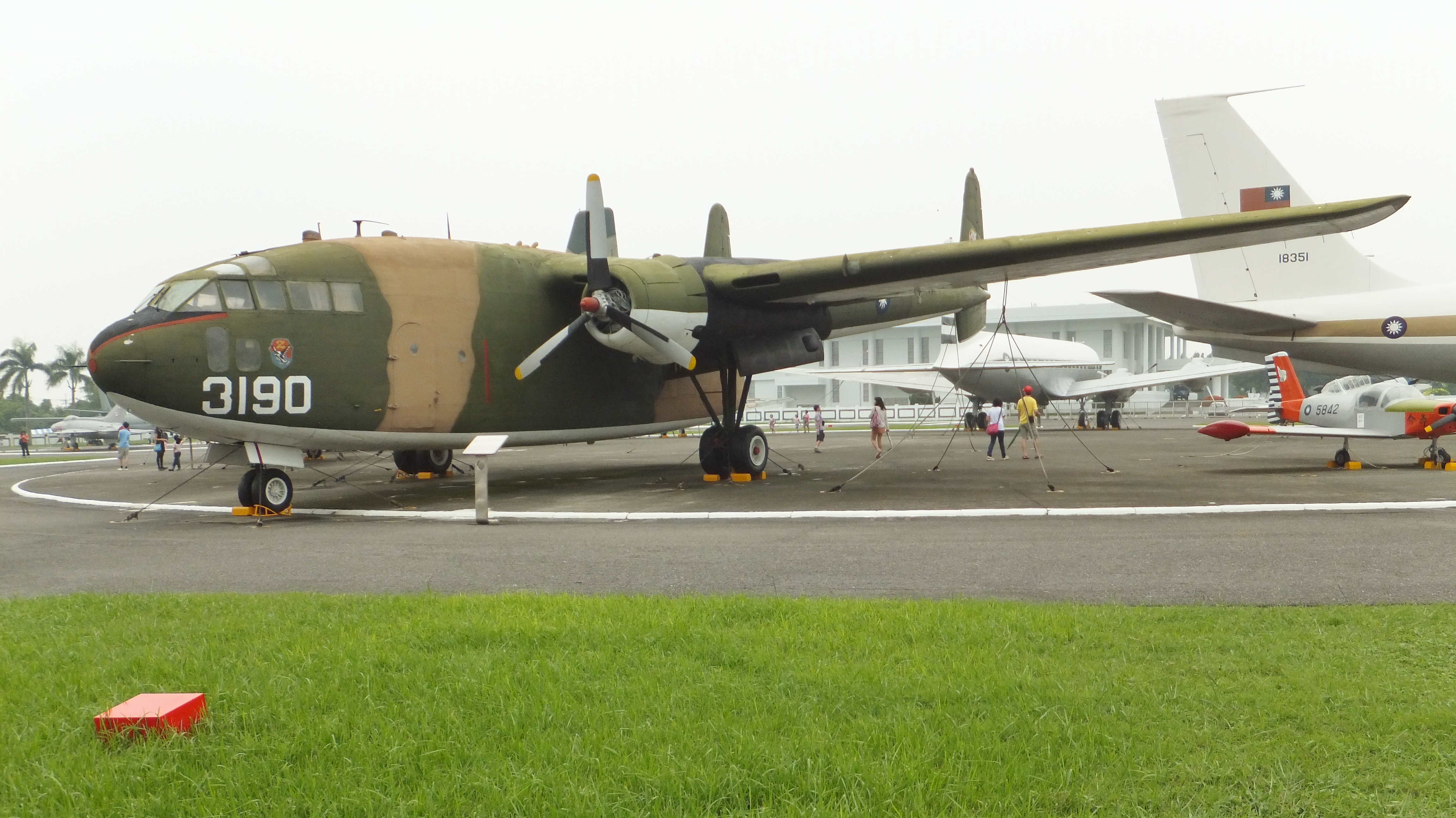 Description ROCAF C-119 in Military Airplanes Display Area 20111015 ...