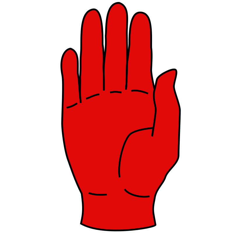 Red Hand Of Ulster Wikipedia