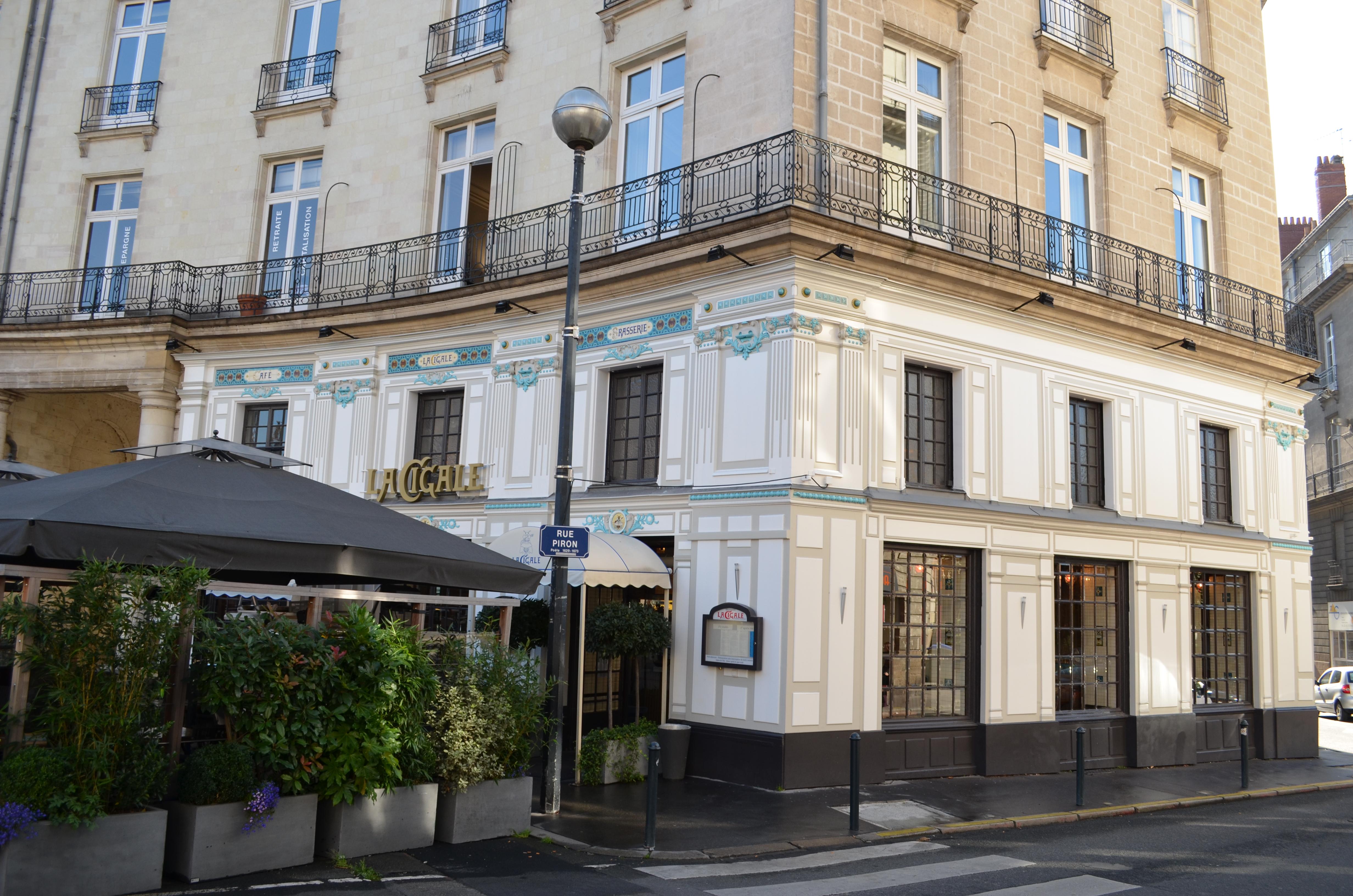 File restaurant la cigale fa ade angle - La maison cafe nantes ...