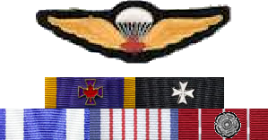 Romeo Dallaire's ribbons, circa 1994.png
