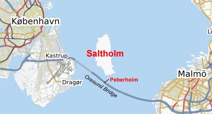 Depiction of Saltholm