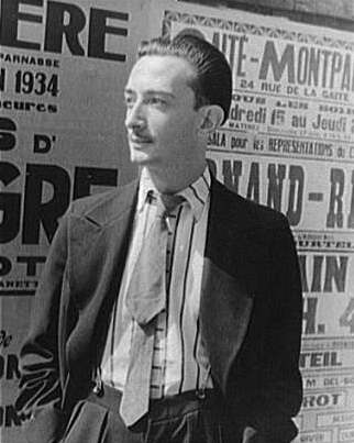 Datei:Salvador Dalí, 1934 (photo by Carl Van Vechten).jpeg