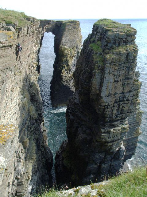 File:Sea Stack and Arch - geograph.org.uk - 303584.jpg ...
