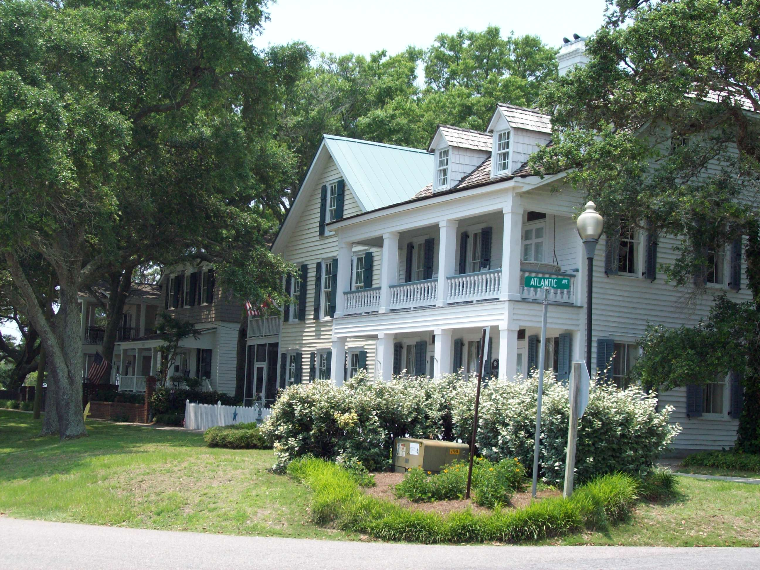 Admirable Southport Historic District Southport North Carolina Home Interior And Landscaping Mentranervesignezvosmurscom