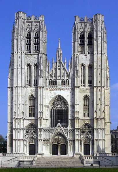 Kathedrale St. Michael und St. Gudula in Brüssel