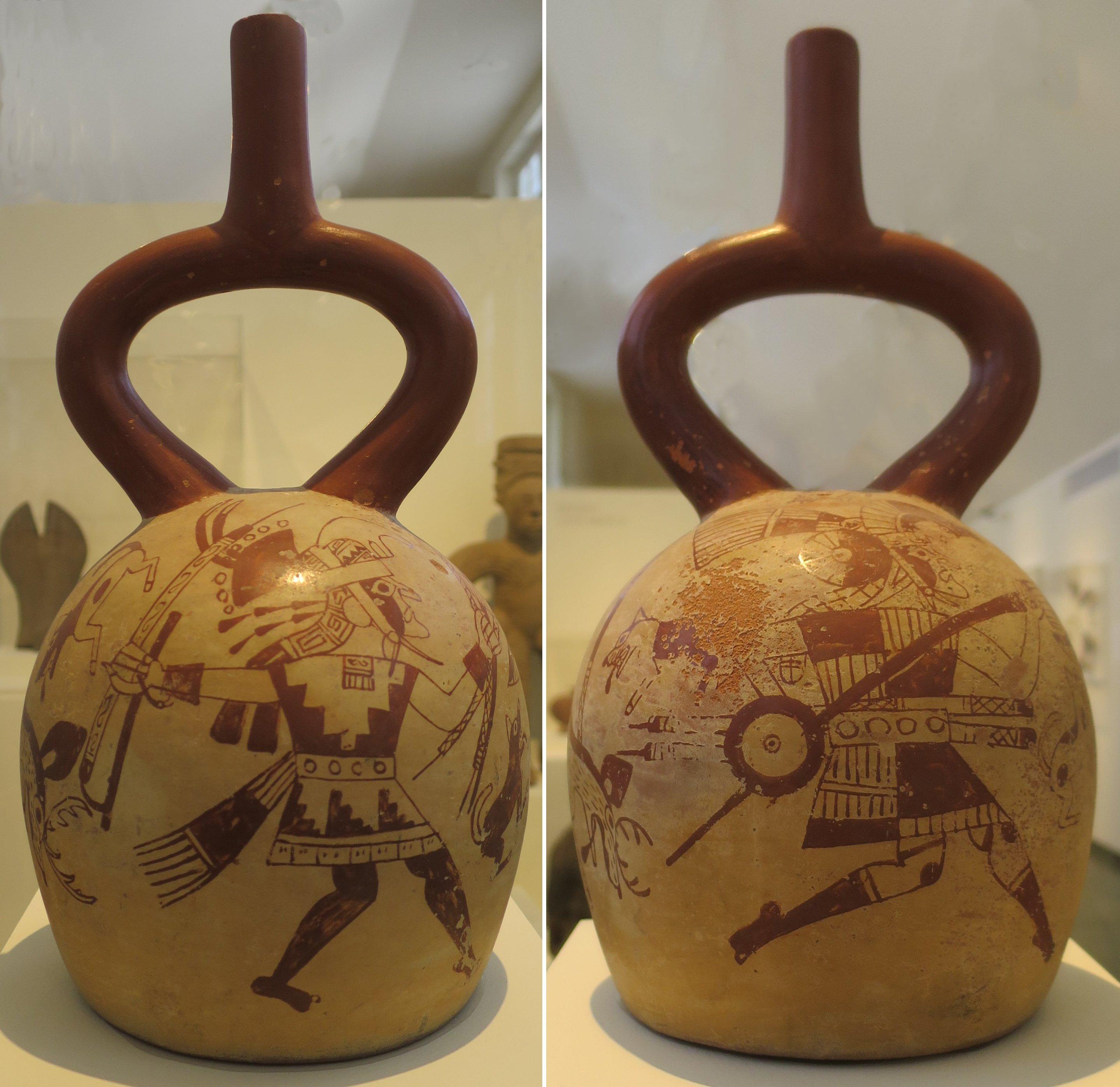 filestirrupspout vessel moche culture honolulu museum
