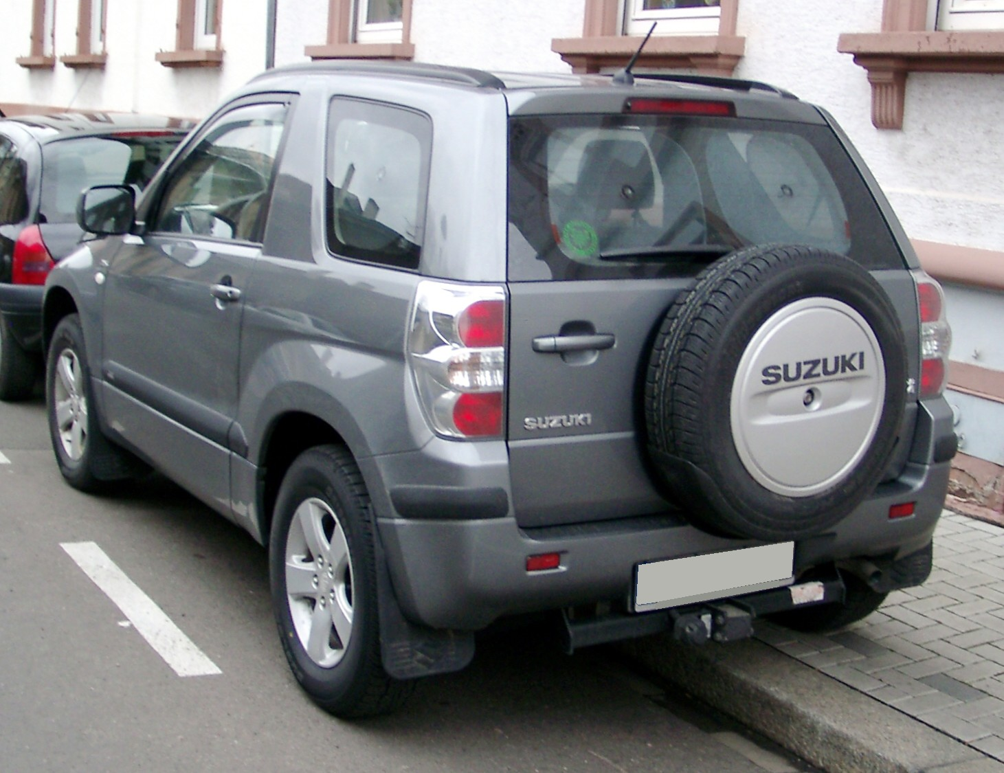 FileSuzuki Grand Vitara Rear 20080118